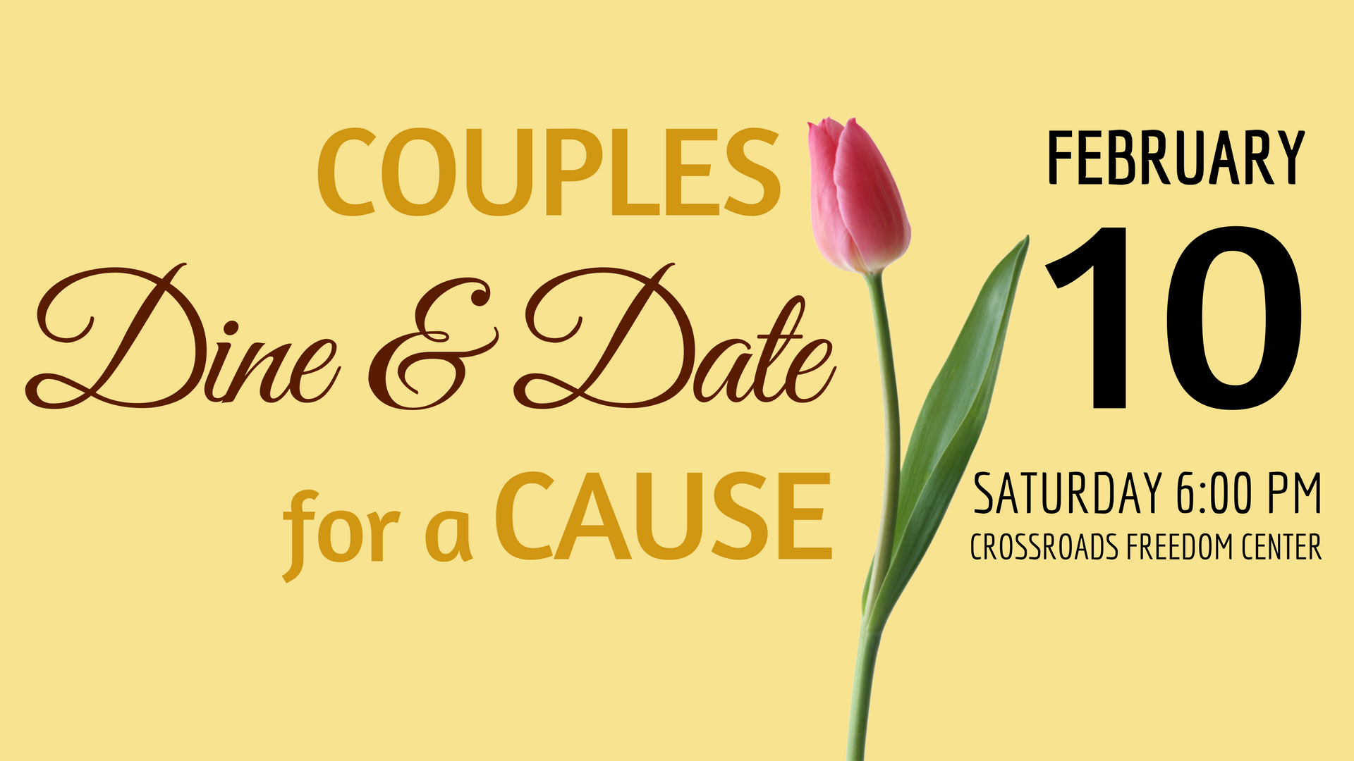 Couples Dine and Date for a Cause