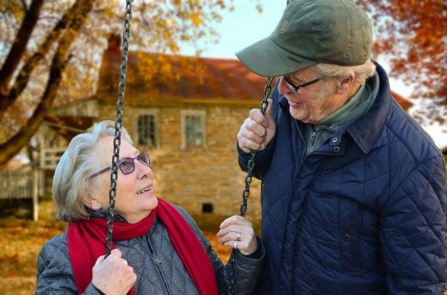 Longest Marriage - happy senior couple